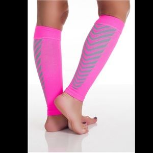 Calf Compression running sleeves—2 pc set